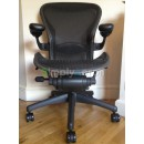 Carbon Classic Aeron Chair with Lumbar Support
