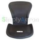 New Aeron Back/Seat Pan Set in Carbon Classic