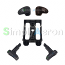 Aeron Classic Back/Front Tilt Lever Set (Transition)
