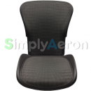Aeron Back/Seat Pan Set in Grey Tuxedo