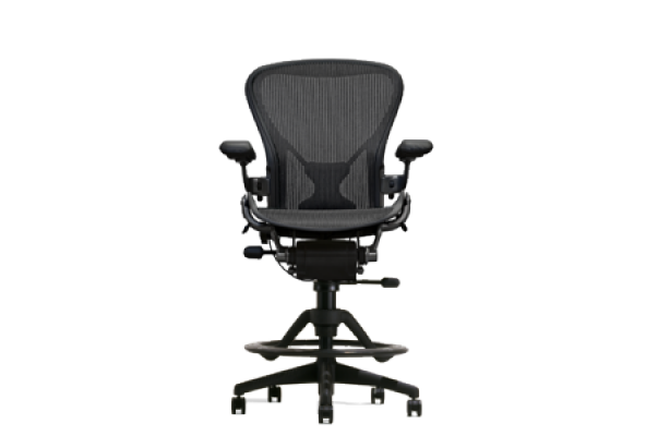 Aeron Classic Side Activated Work Stool Gas Lift