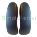 New Aeron Black Vinyl Arm Pads (MK2)