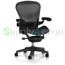 Carbon Wave Classic Aeron Chair with Lumbar Support (Mk2)
