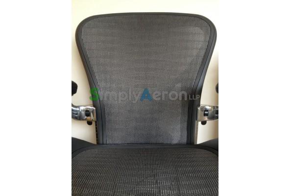 grey tuxedo executive classic aeron chair with posturefit mk2
