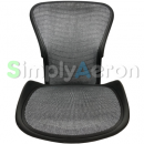 Aeron Classic Back/Seat Pan Set in Platinum Wave