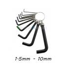 New Allen Key Keyring Set