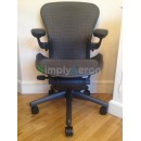 Grey Tuxedo Classic AERON Chair with POSTUREFIT (Mk2)