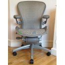 White Gold Tuxedo Classic Aeron Chair with PostureFit (Mk2)