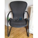 Grey Tuxedo Size B Aeron Side Chair