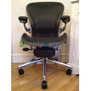 Carbon Classic Executive Aeron® Chair with Lumbar Support (Mk2)