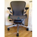 Grey Tuxedo Executive Classic Aeron Chair with PostureFit (Mk2)