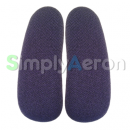 Aeron Purple Upholstered Arm Pads
