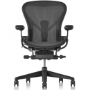 Graphite Remastered Aeron Chair with PostureFit SL