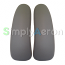 New Aeron Grey Smoke Vinyl Arm Pads (MK2)