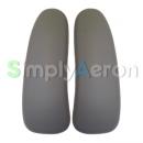 New Aeron Grey Smoke Vinyl Arm Pads (MK2)